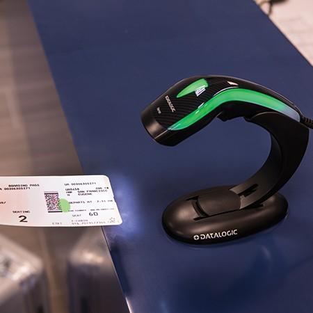 Barcodescanner Datalogic Heron HD3430