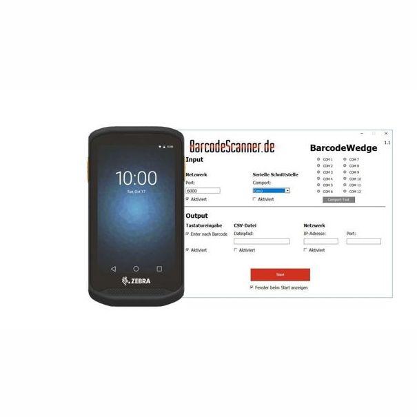 Fabriksnye Bundle - WLAN Barcode Scanner   Barcodescanner & Zubehör Shop MM-69