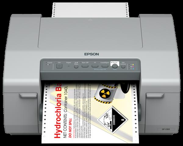 Etikettendrucker Epson ColorWorks C831