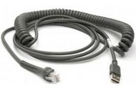 Datalogic Scanning USB Kabel, TypA, gedreht, 5m