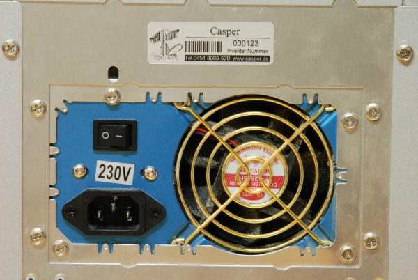 Inventaretiketten 60x20 mm, silber