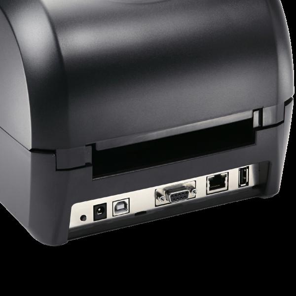 Anschlüsse des Desktop Etikettendrucker CPD200