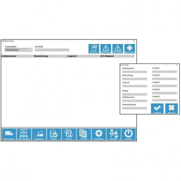 Lagerverwaltungssoftware-Zusatzlizenz