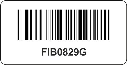 Barcode-Etiketten 40x23 mm
