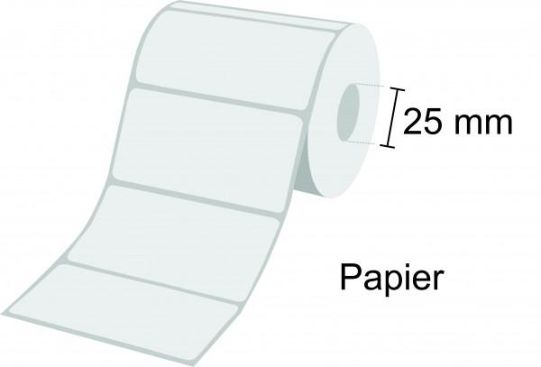 Zebra Etikettenrolle Z-Perform 1000T, Papier, 25mm Kern